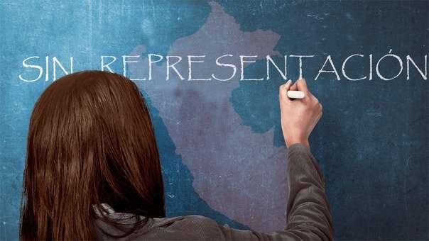 De acuerdo con el Jurado Nacional de Elecciones, la legislación electoral dispone la cuota de género en un 30 % para la conformación de listas de candidatos en las elecciones para alcaldías, regidurías y gobiernos regionales.