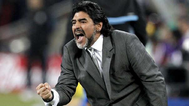Diego Maradona dirigió a la Selección de Argentina en el Mundial Sudáfrica 2010.