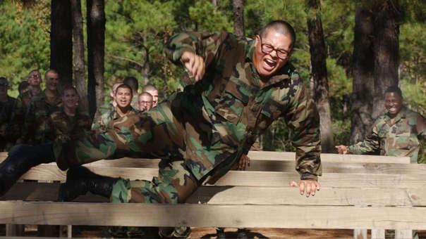 Un soldado estadounidense durante un ejercicio