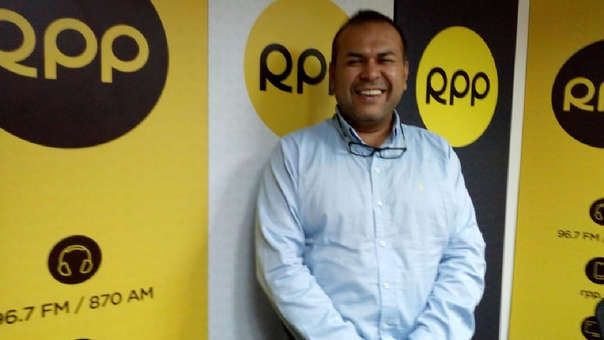 Marcos Gasco llegó a RPP para entrevista tras su triunfo