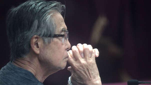 Alberto Fujimori fue trasladado a la clínica Centenario luego de que se le anuló el indulto humanitario.