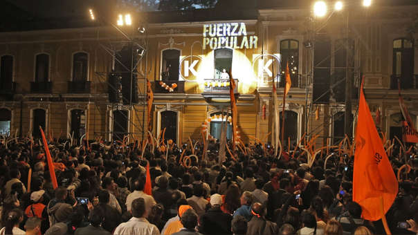 El caso se remonta a la campaña electoral del 2011 donde se realizaron aportes a Fuerza Popular a través de cócteles.