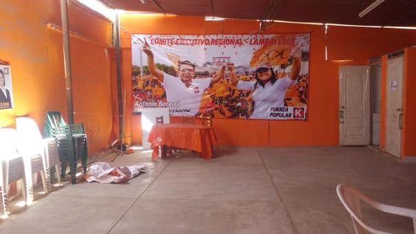 Partido naranja también hizo rifas en Lambayeque