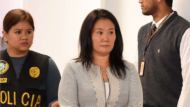 Keiko Fujimori fue detenida este miércoles