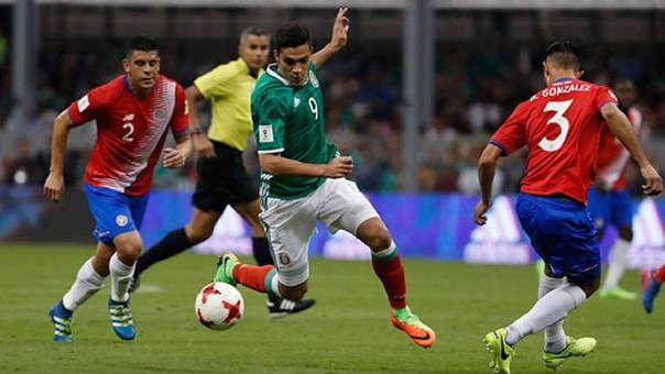 México remontó y venció 3-2 a Costa Rica en amistoso internacional ...
