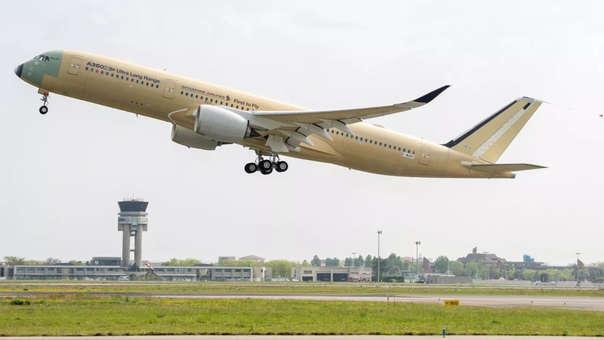 Así es Airbus A350 Ultra Long Range.