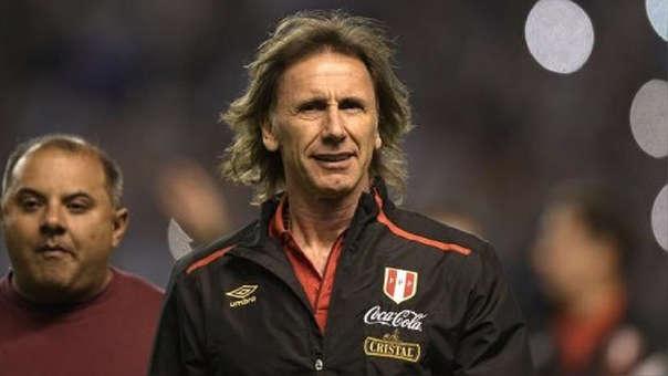 Ricardo Gareca es entrenador de la Selección Peruana desde 2015.
