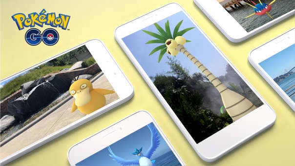 Pokémon go con RA+