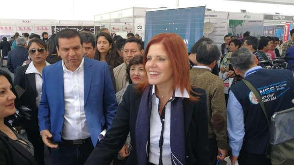 Vicepresidenta Mercedes Araóz