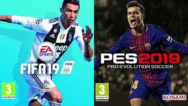 FIFA 19 vs. PES 2019  ¿Cuál es el mejor videojuego de fútbol del año ... 8e57c5639489b