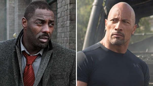Idris Elba y Dwayne Johnson
