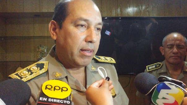 jefe de la Macro Región Policial