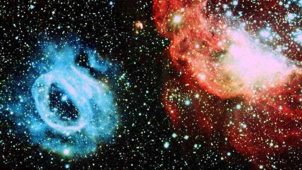 El descubrimiento fue realizado con el radiotelescopio