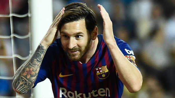FBL-ESP-LIGA-VALENCIA-BARLionel Messi es el máximo goleador en lo que va de la Champions League con 5 anotaciones.CELONA