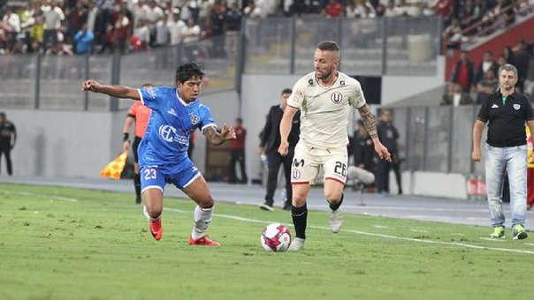 Pablo Lavandeira llegó a Universitario como refuerzo para el Torneo Clausura.