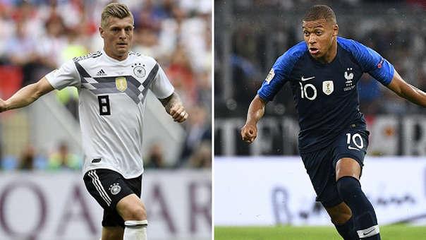 Francia vs. Alemania