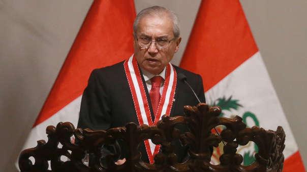 El documento sugería la destitución e inhabilitación de Pedro Chávarry.