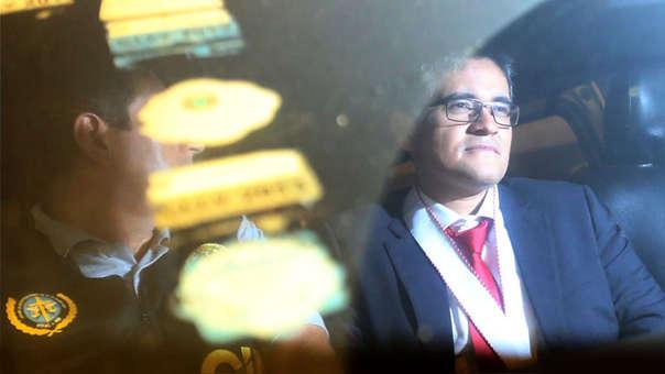 José Domingo Pérez, fiscal integrante del equipo especial que investiga el caso Lava Jato.