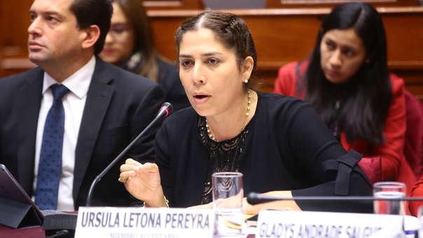 La congresista indicó que también algunos simpatizantes de su partido se encontraban detenidos.