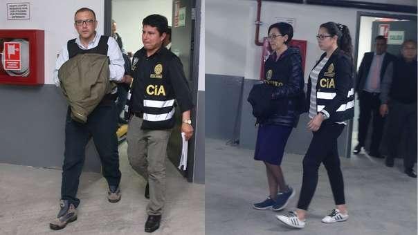 Policía detuvo a los asesores de Keiko Fujimori.