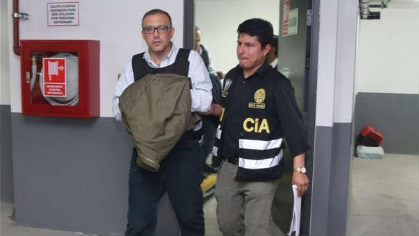 Figari cumple una orden de detención preliminar por diez días en el marco de las investigaciones por el financiamiento a Fuerza Popular.