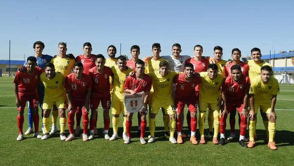 La Sub 20 de Perú