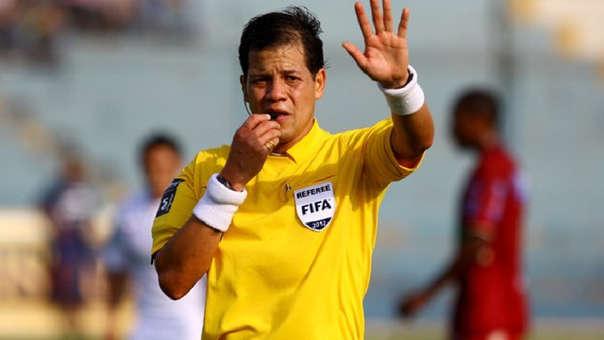 Víctor Hugo Carrillo fue uno de los árbitros elegidos para estar en el Mundial Brasil 2014.