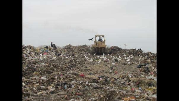 Botadero de Reque es un foco de contaminación