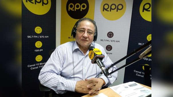 Gaspar Morán Flores, director nacional de Censos y Encuestas del INEI