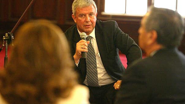 Boloña fue ministro de Economía en dos ocasiones.