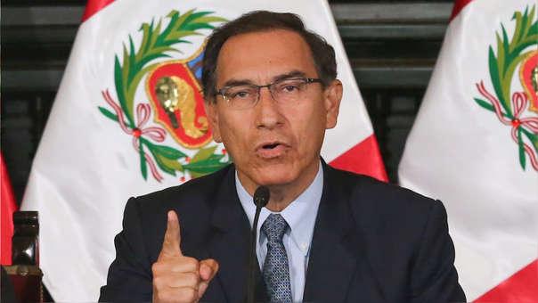 Martín Vizcarra se pronunció sobre la fuga de César Hinostroza