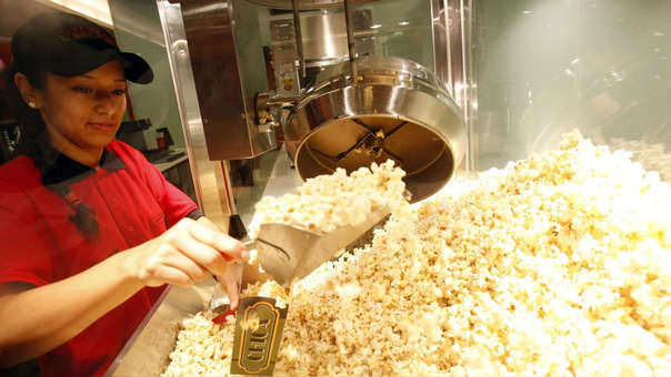 El 40% de los ingresos de las salas de cine venía por la venta de alimentos y bebidas.