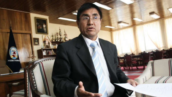 El presidente de la República informó en exclusiva para 'La Rotativa del Aire' de RPP que el ex juez supremo fue detenido.