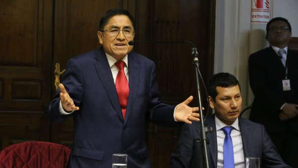 Este viernes, el juez en España dictó prisión provisional para César Hinostroza mientras se decide su extradición.