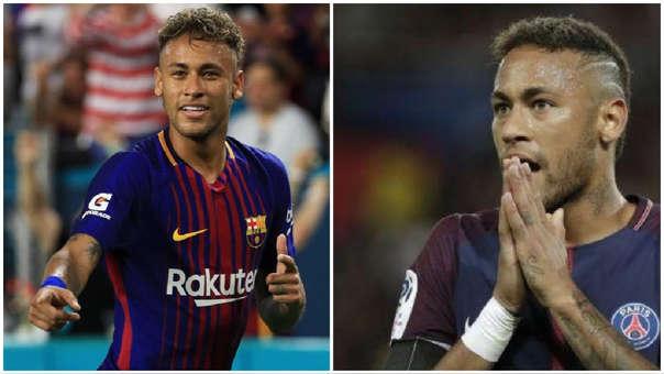 Neymar al Barcelona