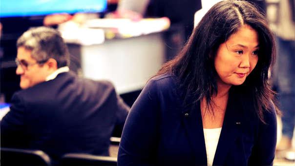 El fiscal José Domingo Pérez pide 36 meses de prisión preventiva para Keiko Fujimori.