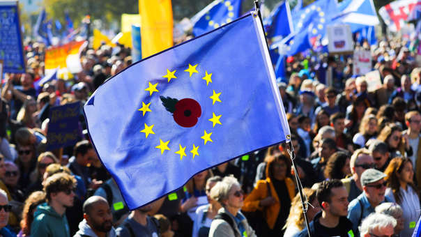 BRITAIN BREXIT PEOPLES MARCH