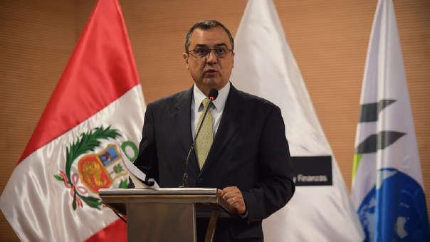 Ministro de Economía se presentó en el Congreso para sustentar el proyecto de presupuesto público del 2019.