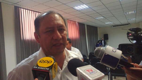 Gerente de Salud, Pedro Cruzado