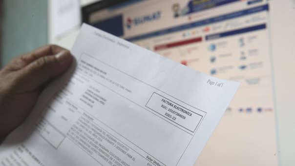Más de 160 mil empresas emiten sus comprobantes de pago de manera electrónica.