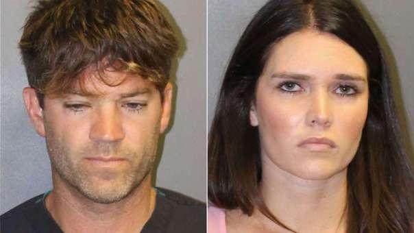 Grant Robicheaux y Cerissa Riley, los acusados.