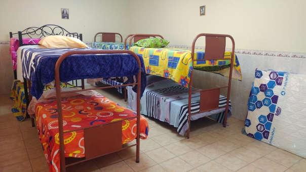 Albergue temporal para mujeres venezolanas, especialmente para quienes tienen hijos menores