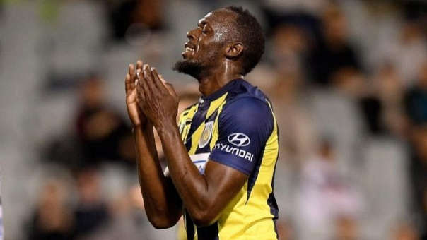 Usain Bolt anotó dos goles en la pretemporada del Central Coast Mariners.