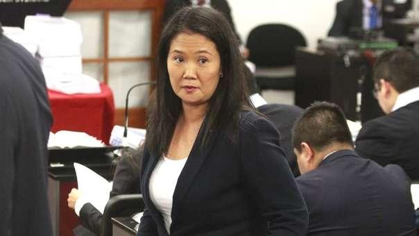 Keiko Fujimori se enfrenta a un pedido de 36 meses de prisión preventiva.