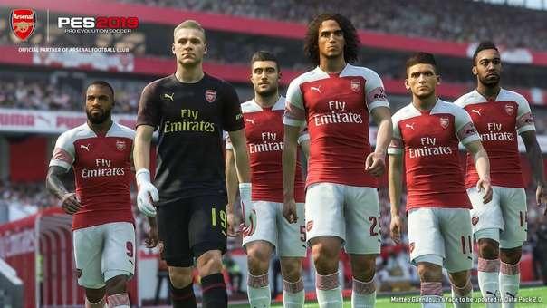 Arsenal en PES 2019