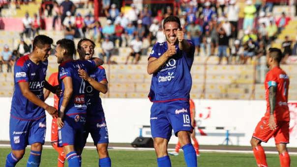 Breno Naranjo marcó para Mannucci.