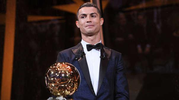 Cristiano Ronaldo ha ganado cinco Balones de Oro en toda su carrera.