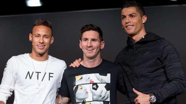 Neymar fue nominado al Balón de Oro en el 2015 junto a Cristiano Ronaldo y Lionel Messi.