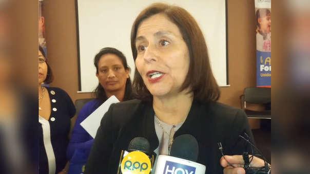 La Viceministra de Salud, María del Carmen Valle