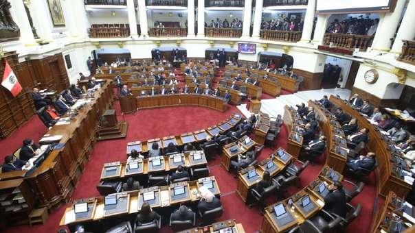 Pleno del Congreso evaluó la ley Oviedo.